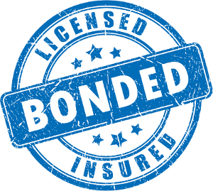licensed insured bonded badge