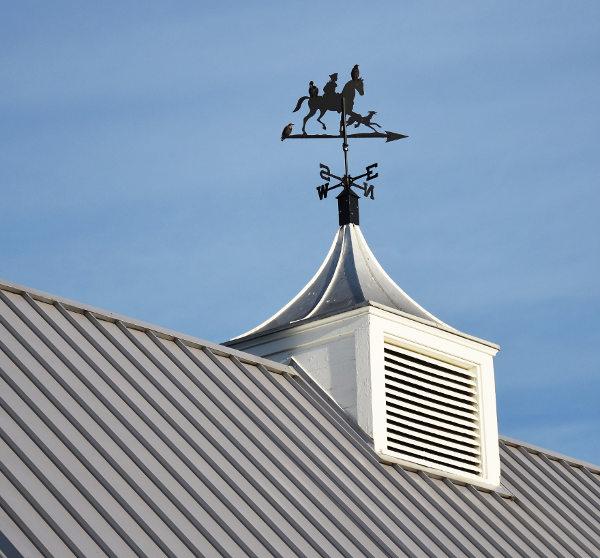 metal roof cupola