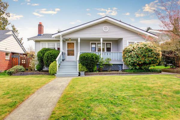 small home exterior